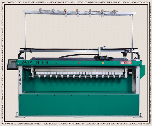 Semi Computerized Flat Bed Knitting Machines Manufacturer In India